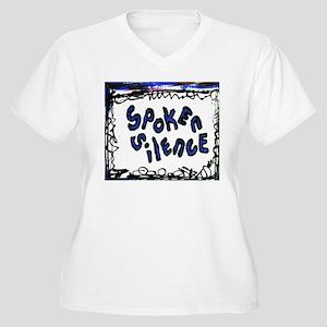 spoken silence Women's Plus Size V-Neck T-Shirt