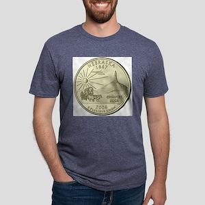 Nebraska Quarter 2006 Basic Mens Tri-blend T-Shirt