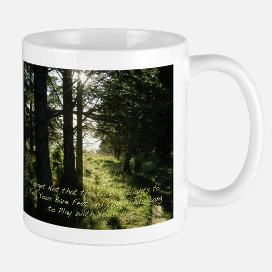 The Earth Delights in You Mug