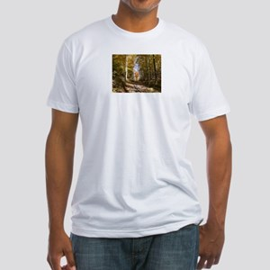 Single Tree Fitted T-Shirt