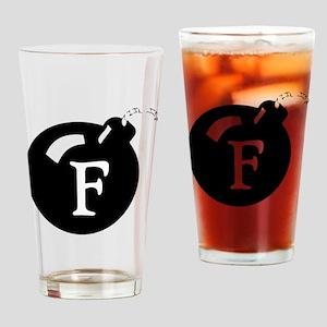 The F Bomb Drinking Glass