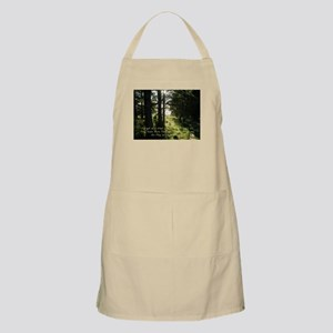 The Earth Delights in You Apron