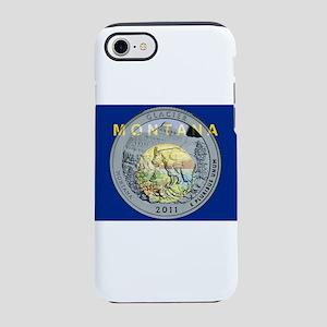Montana Quarter 2011 iPhone 7 Tough Case