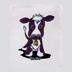 Holstein Cow Throw Blanket
