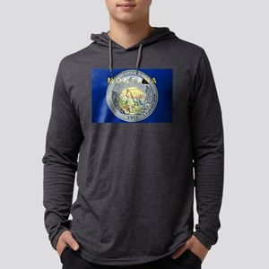 Montana Quarter 2011 Mens Hooded Shirt