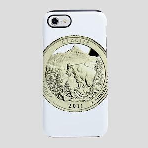Montana Quarter 2011 Basic iPhone 7 Tough Case