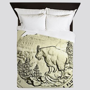 Montana Quarter 2011 Basic Queen Duvet