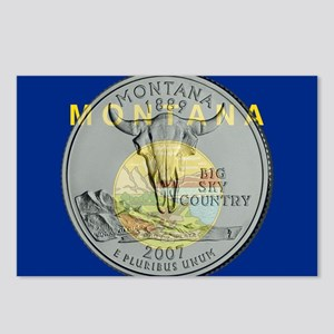 Montana Quarter 2007 Postcards (Package of 8)
