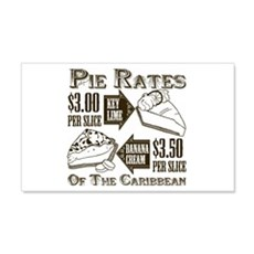 Pie Rates of the Caribbean Wall Decal