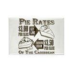 Pie Rates of the Caribbean Rectangle Magnet