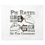 Pie Rates of the Caribbean King Duvet