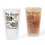 Pie Rates of the Caribbean Drinking Glass
