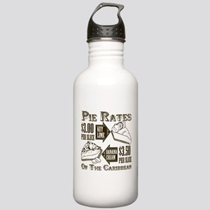 Pie Rates of the Caribbean Stainless Water Bottle