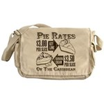 Pie Rates of the Caribbean Messenger Bag