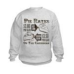 Pie Rates of the Caribbean Kids Sweatshirt