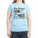 Pie Rates of the Caribbean Women's Light T-Shirt