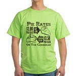 Pie Rates of the Caribbean Green T-Shirt