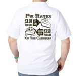 Pie Rates of the Caribbean Golf Shirt