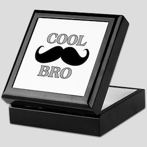 Cool Mustache Bro Keepsake Box