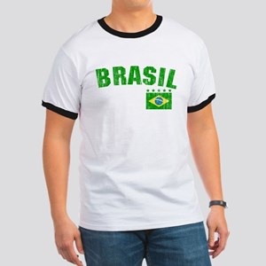 BRAZIL-BLACK-worn T-Shirt