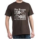 Pie Rates of the Caribbean Dark T-Shirt