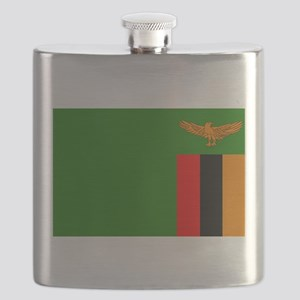 Flag of Zambia Flask