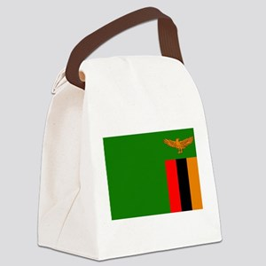 Flag of Zambia Canvas Lunch Bag