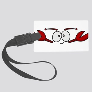 Lobster Face Large Luggage Tag