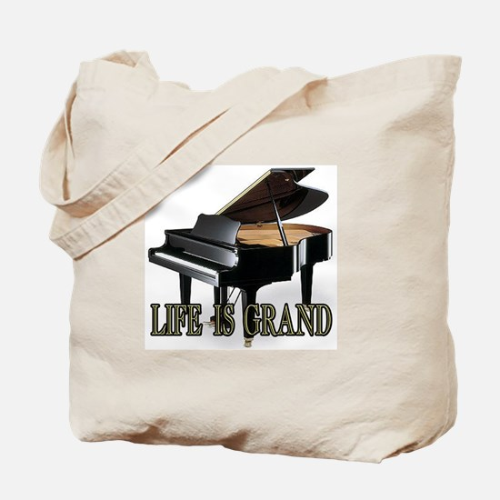 LIFE IS GRAND- CLASSY copy.png Tote Bag