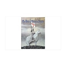 Christian Knight on Horse Wall Decal