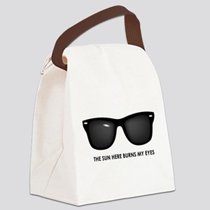 The Sun Here Burns My Eyes Canvas Lunch Bag