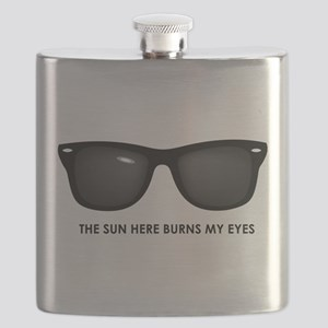 The Sun Here Burns My Eyes Flask