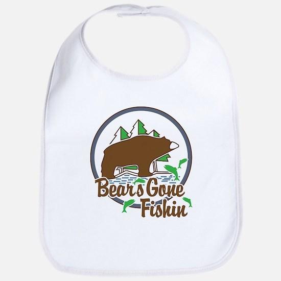 Bear's Gone Fishn' Bib