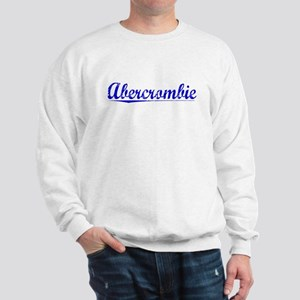 Abercrombie, Blue, Aged Sweatshirt