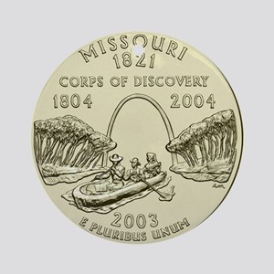 Missouri Quarter 2003 Basic Round Ornament