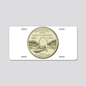 Missouri Quarter 2003 Basic Aluminum License Plate