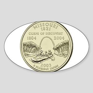Missouri Quarter 2003 Basic Sticker