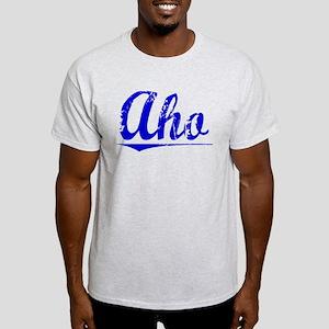 Aho, Blue, Aged Light T-Shirt