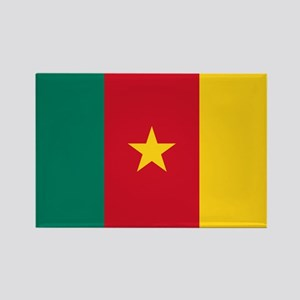 Flag of Cameroon Rectangle Magnet