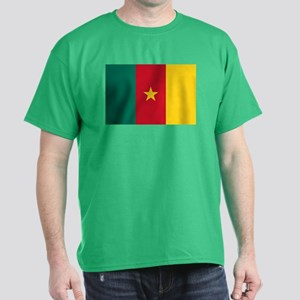 Flag of Cameroon Dark T-Shirt