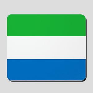 Flag of Sierre Leone Mousepad