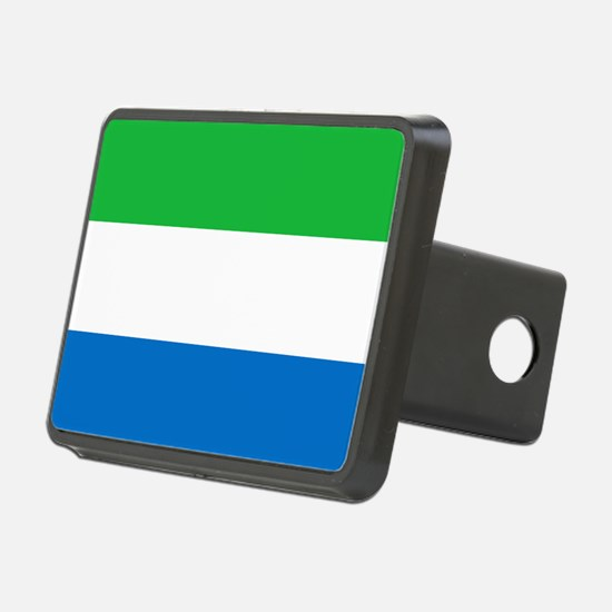 Flag of Sierre Leone Hitch Cover