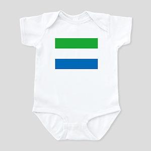 Flag of Sierre Leone Infant Bodysuit