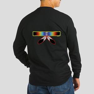NATIVE PRIDE Long Sleeve Dark T-Shirt