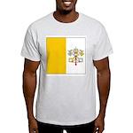 Vatican City Blank Flag Ash Grey T-Shirt