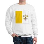 Vatican City Blank Flag Sweatshirt