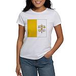 Vatican City Blank Flag Women's T-Shirt