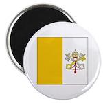 Vatican City Blank Flag Magnet