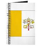 Vatican City Blank Flag Journal