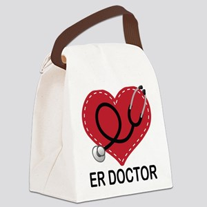 ER Doctor Canvas Lunch Bag
